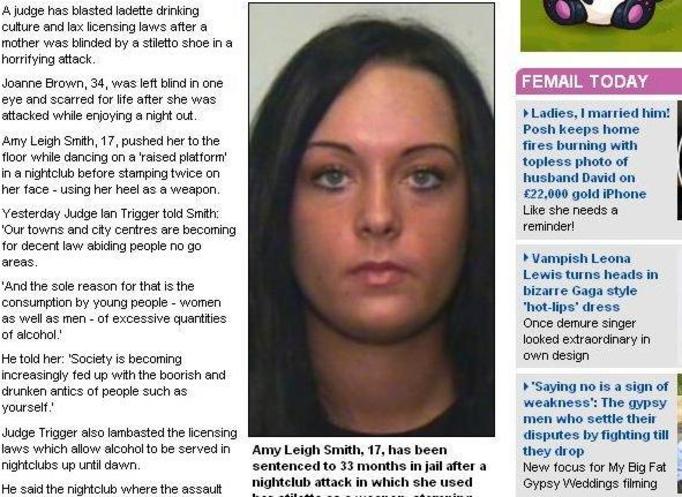 HORROR W DYSKOTECE: Nastolatka wydłubała koleżance oko przy pomocy... obcasa!