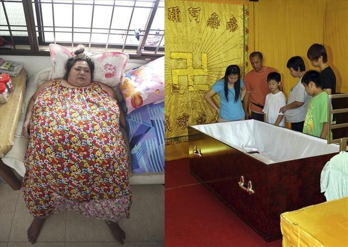 Yoke Fong: Odmówiono spalenia jej otyłego ciała, bo zwłoki nie mieściły się w piecu! JEJ TRUMNĘ NIOSŁO 11 MĘŻCZYZN