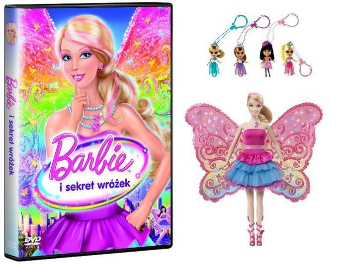 Barbie i sekret wróżek DVD