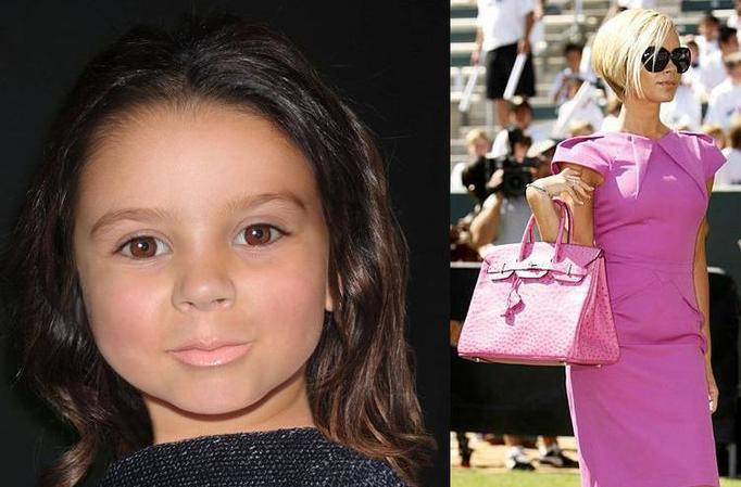 córeczka Beckhamów