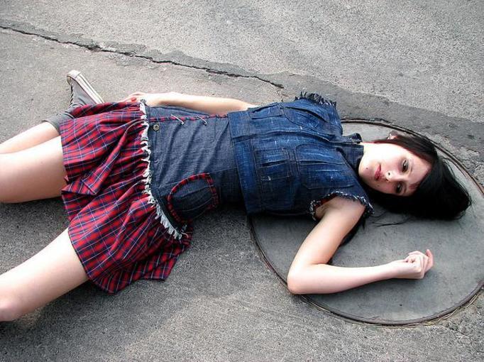 martwa dziewczynka