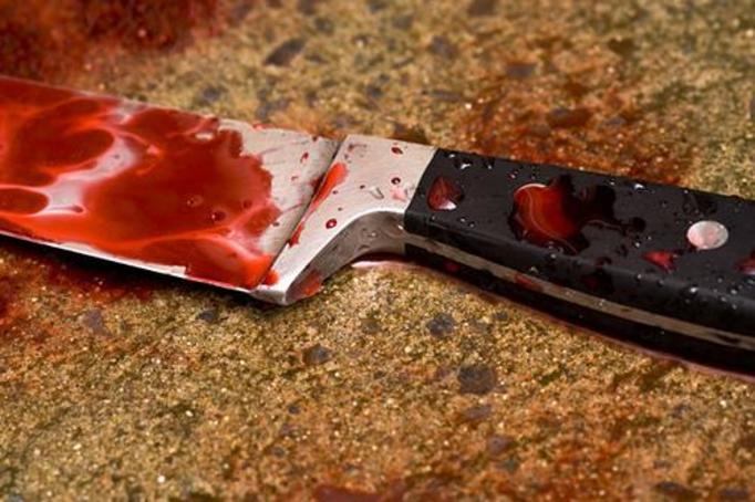 nóż krew