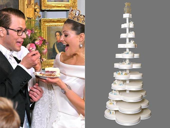 tort weselny księżniczki Victorii