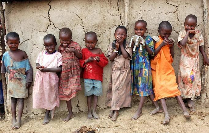 dzieci z nigerii