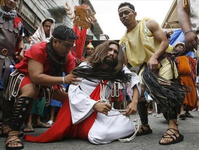 wielki tydzień na filipinach