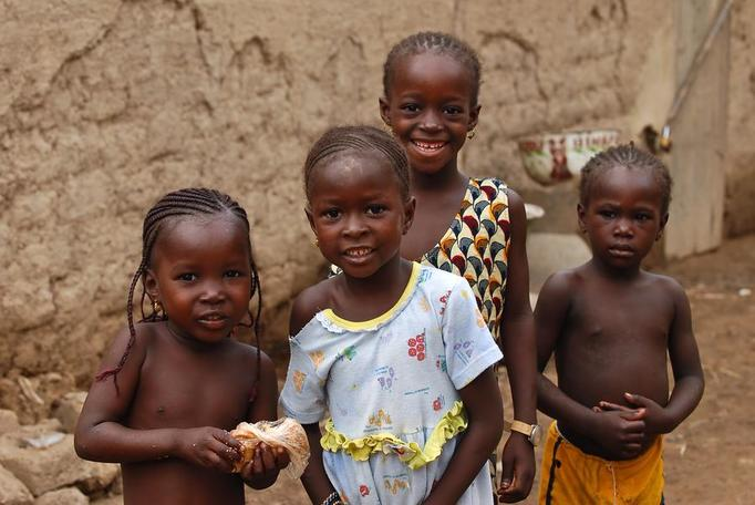 afrykańskie dzieci