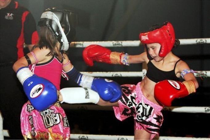 dzieci na ringu