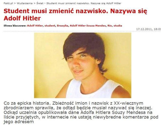 Adolf Hitler Souza Mendes