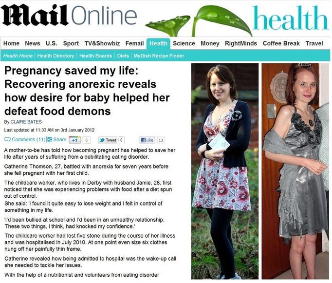 anoreksja w ciąży