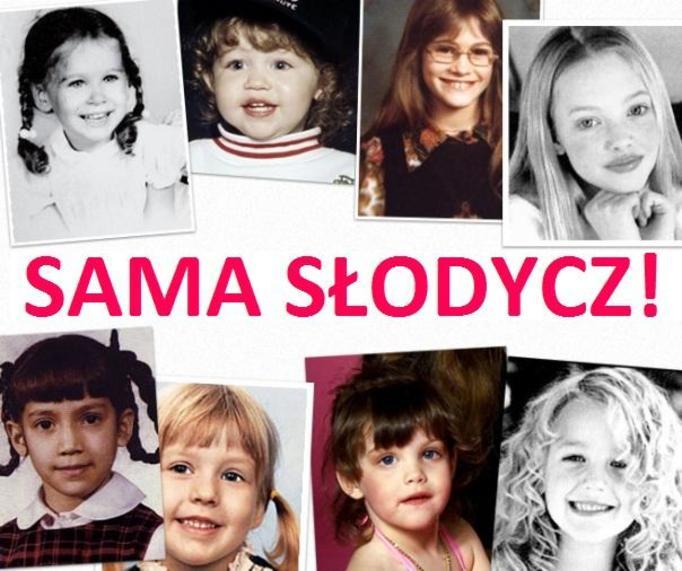 gwiazdy w dzieciństwie