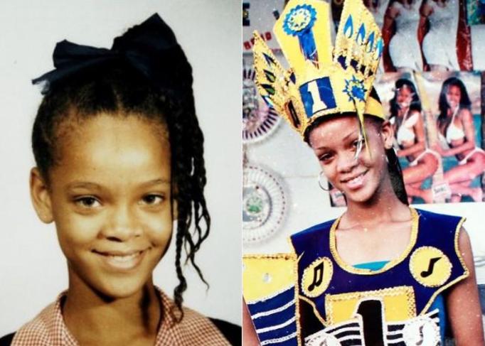 Rihanna w dzieciństwie