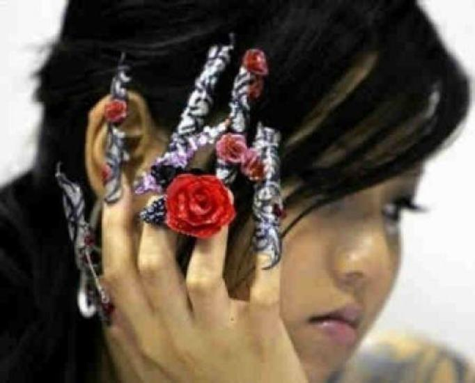 Kreatywne paznokcie