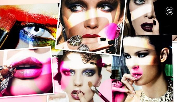Owocowy makijaż