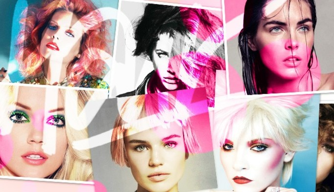 Włosy modelek