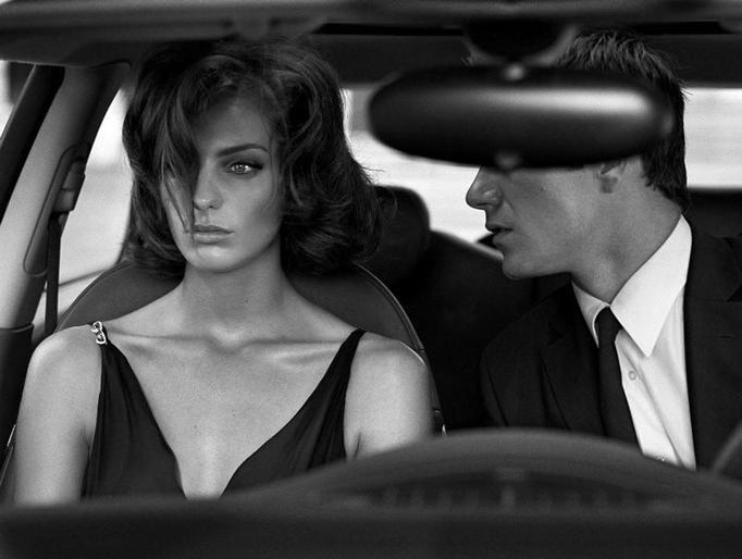para w samochodzie