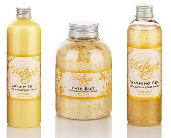 vintage spa vanilla