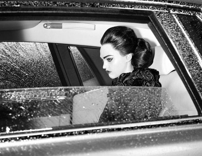 kobieta samochód