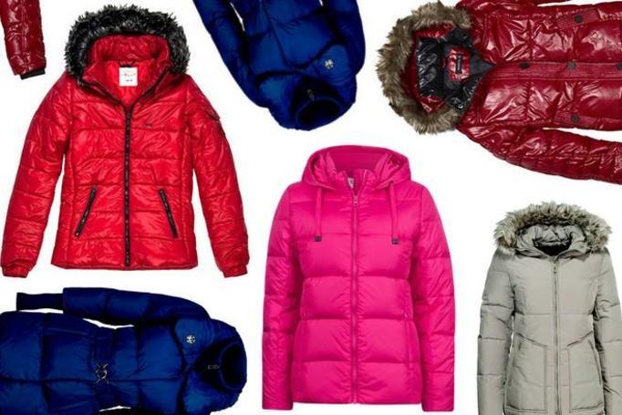 ciepłe kurtki