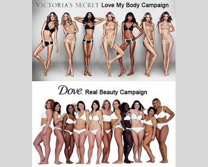 modelki VS i Dove
