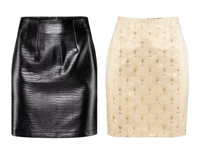 Spódnice H&M zima 2012/13