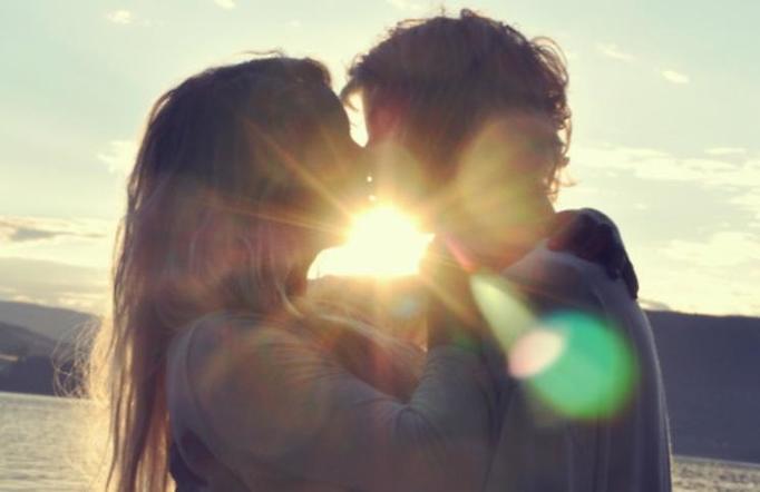 para miłość całowanie