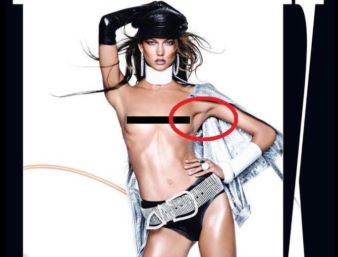 Karlie Kloss Photoshop