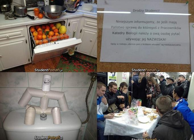 Kreatywni studenci