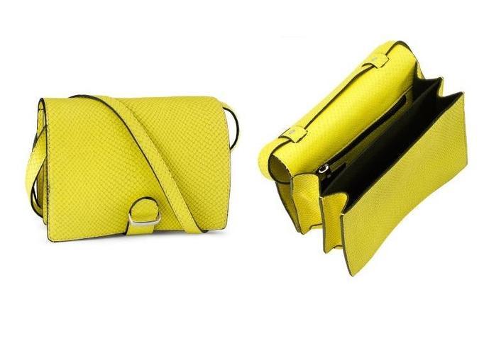 H&M żółta torebka
