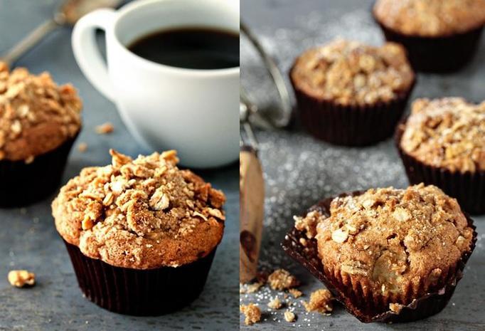 pełnoziarniste muffiny