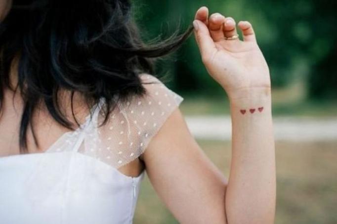 Dyskretne tatuaże