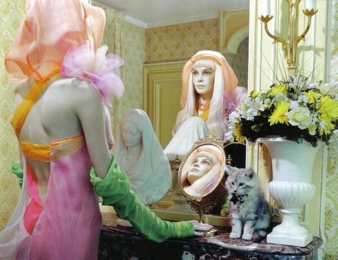 przeglądanie się w lustrze