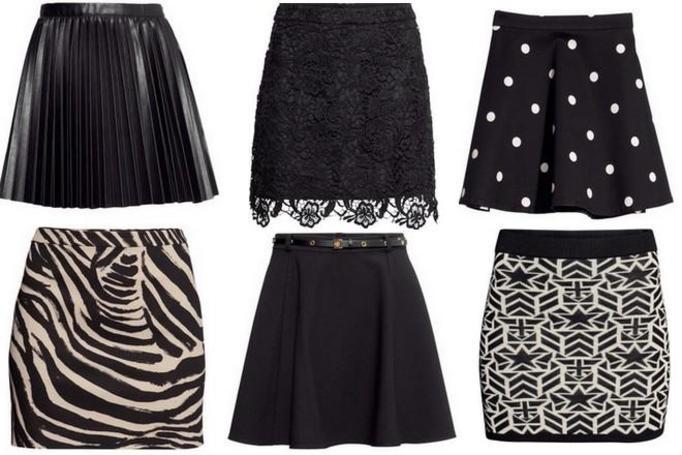 Modne spódnice jesień 2013