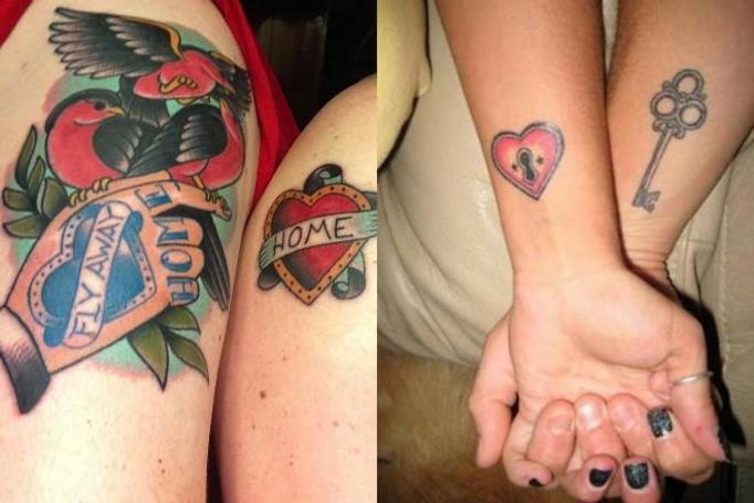 tatuaże dla zakochanych