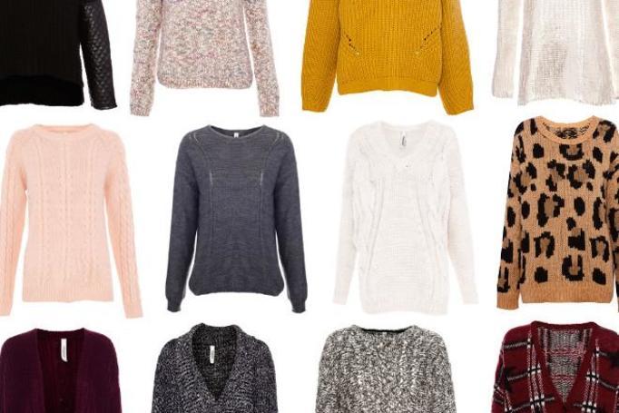 ciepłe swetry pull&bear