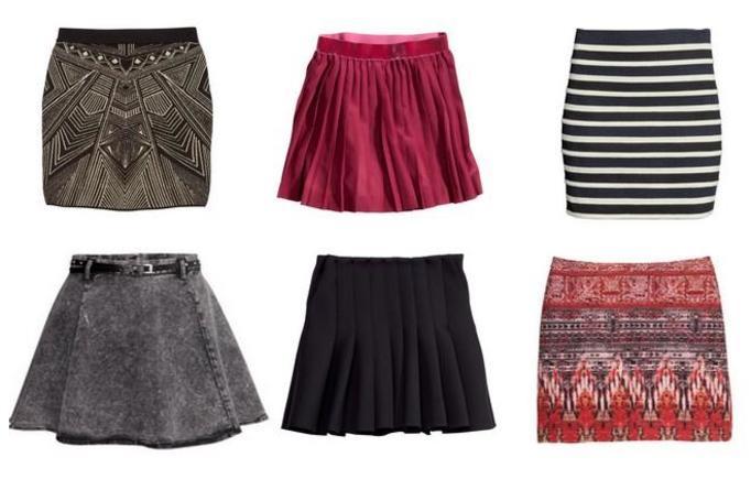 Spódnice H&M zima 2013