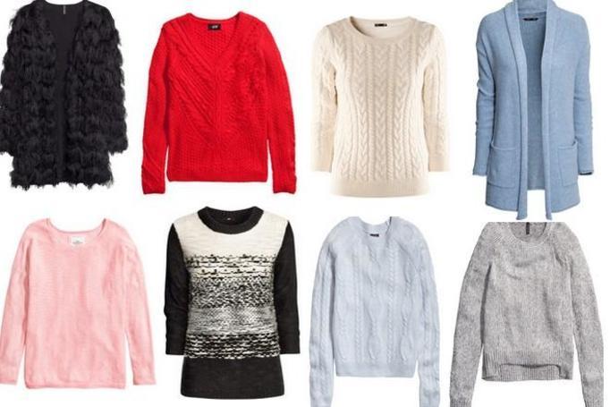 swetry H&M zima 2013