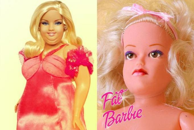 gruba barbie