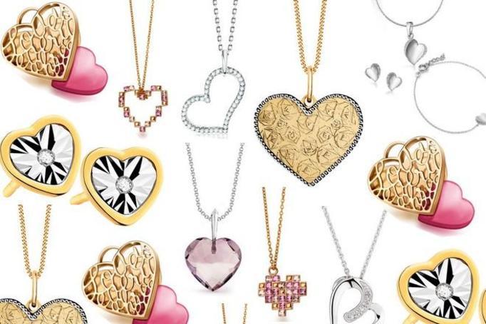 biżuteria walentynkowa