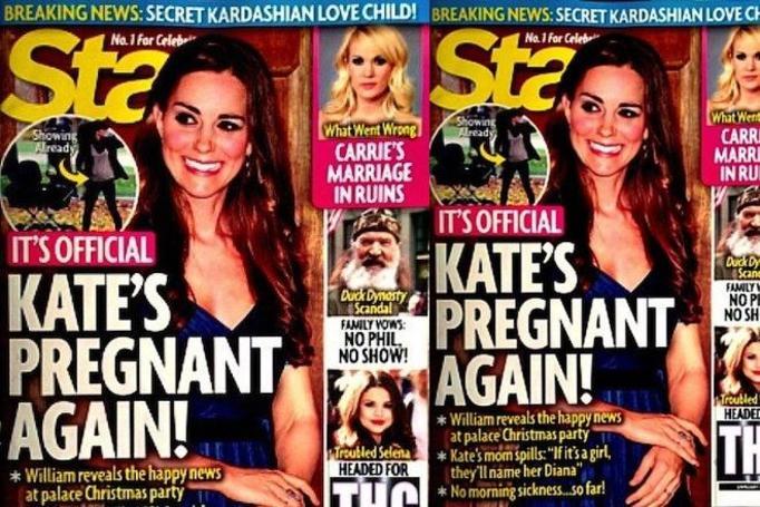 Kate Middleton w ciąży