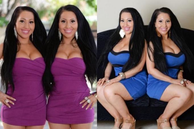 bliźniaczki jednojajowe