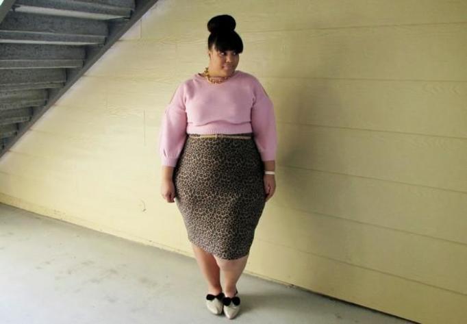 Chastity blogerka plus size