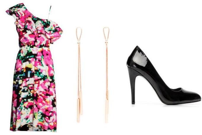 elegancka stylizacją na wiosnę