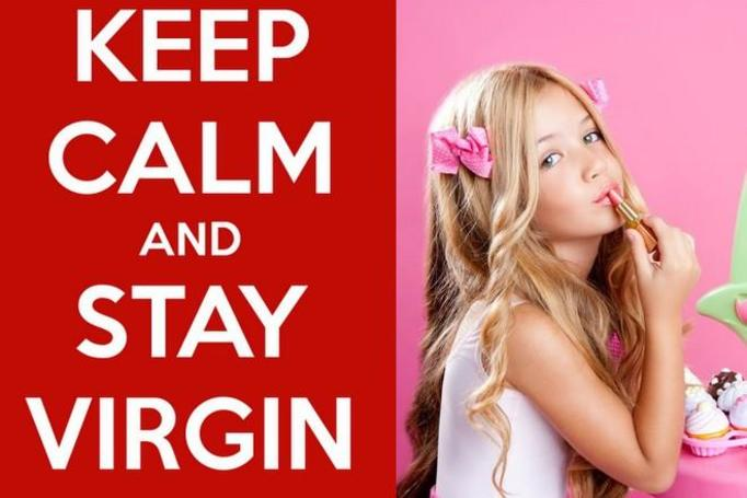 keep calm and stay virgin