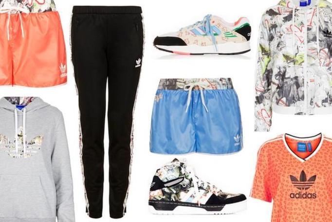kolekcja Topshop x Adidas