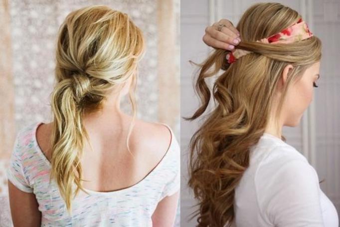 ładna i prosta fryzura