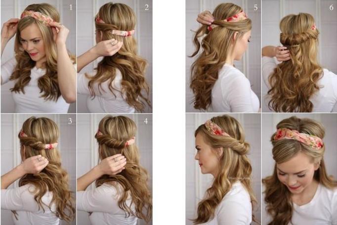 Легкие причёски для коротких волос своими руками фото 411