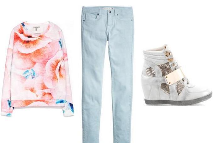 modna stylizacja wiosna 2014