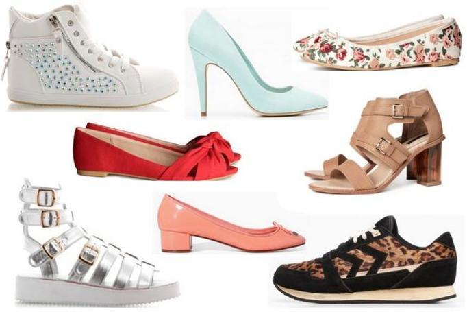 modne buty wiosna 2014