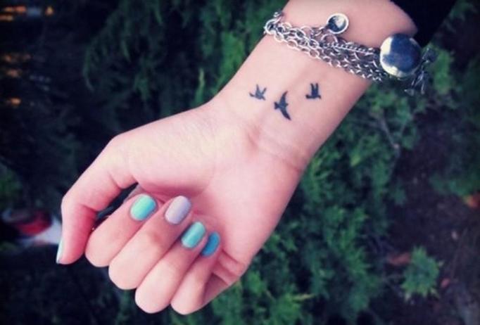 Tatuaże na nadgarstkach