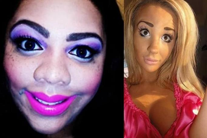 Koszmarny makijaż
